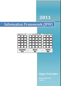 Information FrameWork (IFW) Article - 2011 Update