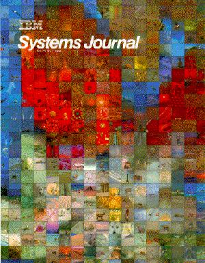 Information FrameWork (IFW) - IBM Systems Journal Article